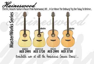 Haineswood Guitars in UAE