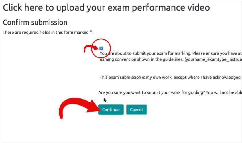 Trinity Digital Exam Steps UAE